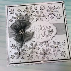 Stamps by Chloe - Winter Wishes - - Christmas Stamps by Chloe - Chloes Creative Cards Chloes Creative Cards, Creative Christmas Cards, Homemade Christmas Cards, Christmas Tea, Christmas Greeting Cards, Christmas Greetings, Greeting Cards Handmade, Crafters Companion Christmas Cards, Stamps By Chloe