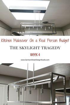 Kitchen Makeover – The Skylight Tragedy   Garrison Street Design Studio