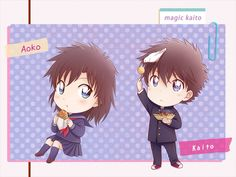 Detective Conan Magic Kaito 1412 Nakamori Aoko Kuroba Kaito Kaito Kid