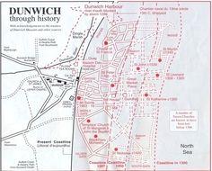 Historic Dunwich, Suffolk so close to Norfolk...