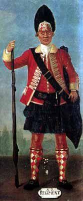 Grenadier, 42nd Highlanders, 1758