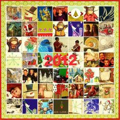 What a good idea for using Xmas cards