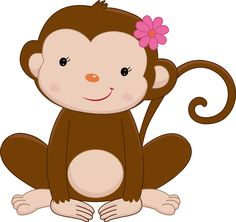 pin by michelle simon on zoo ideas pinterest monkey clip art rh pinterest com baby girl monkey clip art baby girl monkey clip art