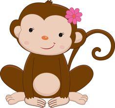 Pretty Pink Girly Jungle Animals - Pretty Pink Girly Jungle Animals_07.png - Minus