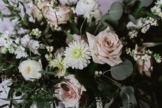 One of my favourite bouquets of the year. This was the first time I had a bride request one of my big-ass bouquets and she made it look SO good! Photo @anitapeeples. Flowers: @satinandsnow #wedding #weddinginspiration #bridal