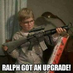 A Christmas Story Gun Humor, Army Humor, Beer Humor, Stupid Funny, Funny Jokes, Hilarious, Funny Stuff, Random Stuff, Funny Sayings