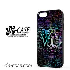 Pierce The Veil Logo Quote Galaxy Nebula DEAL-8604 Apple Phonecase Cover For Iphone SE Case