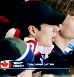 """"""" sidney crosby and dan bylsma at the CAN vs USA women's hockey game (◡‿◡✿) """" Ice Hockey Players, Nhl Players, All About Penguins, Ted Lindsay, Oh Captain My Captain, Olympic Hockey, Hockey World Cup, Terms Of Endearment, Carolina Hurricanes"""