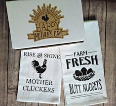 WIN a Rustic Rooster Sign & Rustic Towel Set Box from Ross Creative Studios Giveaway - 2 WINNERS! To win, follow us and save/repin!