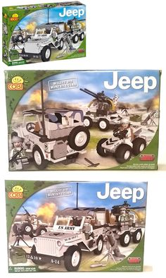 Blocks 18992: Cobi Small Army Series Jeep Willys Winter Squad Building Block Set 24250 -> BUY IT NOW ONLY: $53.95 on eBay!