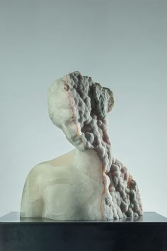 Italian artist Massimiliano Pelletti works within a variety of materials including marble, bronze, and stone to carve elegant busts and human forms that evoke echoes of ancient sculpture while infusing each piece with a contemporary twist Bronze, Statues, Contemporary Art, Modern Art, Contemporary Sculpture, Marble Bust, Colossal Art, Classical Art, Italian Artist