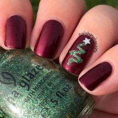 Xmas Nails, Holiday Nails, Simple Christmas Nails, Christmas Nail Polish, Christmas Manicure, Nagel Hacks, Nagellack Design, Manicure E Pedicure, Pedicures