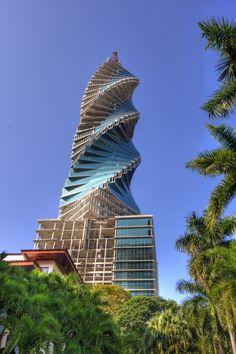 Revolution Tower, Panama City, Panama.