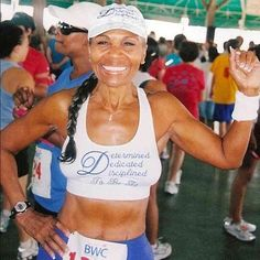 Pure Motivation: Ernestine Shepherd. This lady was born in 1937. Yep, she's 75. Avid long distance runner, personal trainer, oldest recorded professional bodybuilder and model. Wow.