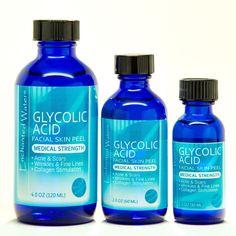 GLYCOLIC ACID Chemical Peel Kit Medical Grade 100% Pure