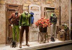 Harmont Blaine windows 2014 Fall, Milan – Italy window display