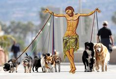 """""""god, I hate dogs!"""""""