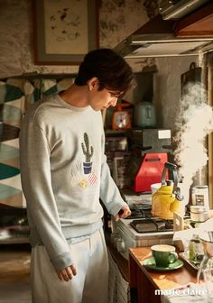 Gong Yoo Travels To Jeju Island With April's Marie Claire cr. couch-kimchi.com