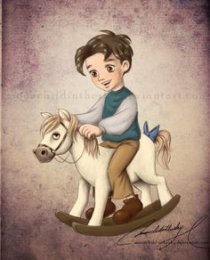 Eugene as a Child Art by *moonchildinthesky