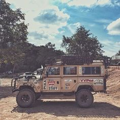 Land Rover Defender 110 from @cowinhumansclothing #overland #adventuremobile