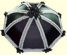 #retroscope #goth #gothiclolita #umbrella #wishlist
