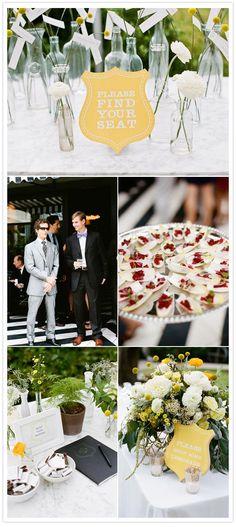 A modern Austin, Texas wedding   http://www.100layercake.com/blog/2012/01/16/modern-austin-texas-wedding-ryan-tim/