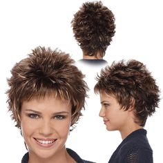 Related Pictures short spiky wigs