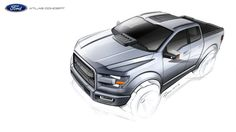 Ford Atlas Concept sketches by Ryouo liaowei at Coroflot.com