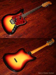 1967 Fender Electric XII…..it's twice the fun!  http://www.garysguitars.com/catalog/1967-fender-electric-xii-fee0758