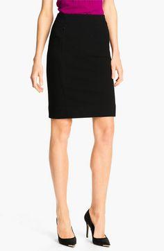 diane von furstenberg dvf new koto black pencil skirt {40% now during Nordstrom's Half Yearly Sale!!}