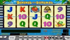 #BananasGoBahamas is an interesting and #colourful #fruit themed slot that is offering a lot of #fun. You are able to improve your playing skills or test your gaming experience on this slot for free.  This slot machine game is developed by Novomatic for anyone who enjoys playing just for fun instead of money. It has made a name among players with its #bonus feature that is almost repeated endlessly.