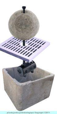 Fabriquer une fontaine de jardin jardins comment et - Fabriquer une fontaine zen ...