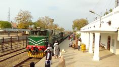 Last Pakistani Train before lock down. The world is in quarantine so pakistan Pakistan Railways, Train Journey, Pakistani, Street View, World, The World