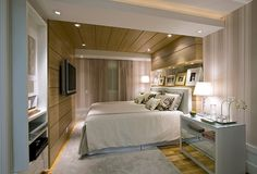 Imagem relacionada Small Space Living, Small Spaces, Interior Architecture, Interior Design, Suites, Small Apartments, Cozy House, Guest Room, Beautiful Homes