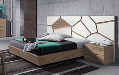 cama juego de dormitorio matrimonial respaldo mesas de luz Wardrobe Design Bedroom, Bedroom Furniture Design, Modern Bedroom Design, Master Bedroom Design, Bed Furniture, Bedroom Designs, Bed Headboard Design, Sofa Bed Design, Headboards For Beds