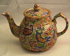 Teapot English Chintz China$55