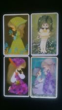 Vintage Joy Swap Card 1970's Children (Blank Back) 4x cards