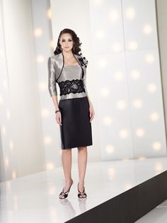Social Occasions by Mon Cheri   Mother of the Bride Dresses style #212800