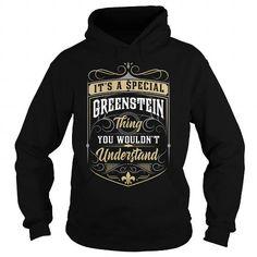 I Love GREENSTEIN GREENSTEINYEAR GREENSTEINBIRTHDAY GREENSTEINHOODIE GREENSTEINNAME GREENSTEINHOODIES  TSHIRT FOR YOU Shirts & Tees