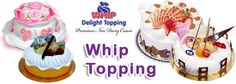 Looking to create exotic cake designs or wishing to add topping to your cakes, buy whip topping of Narsaria's.  Cheer for vegetarians to get veggie toppings. Get your non-dairy, vegetarian product.