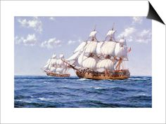Clipper Ships, Canvas Art and Posters at Art.com