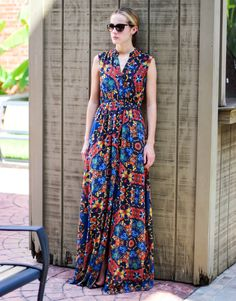 Maxi Monday - Alice and Olivia Marianna Maxi Dress