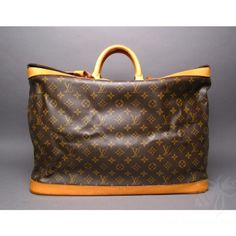 7cfb25dab112 This is a Louis Vuitton Monogram Canvas Cruiser 50 Travel Luggage Bag in  great preowned condition.