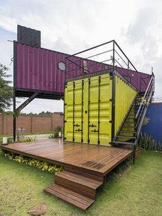 Casa container da Ca...