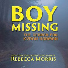 "Another must-listen from my #AudibleApp: ""Boy Missing"" by Rebecca Morris, narrated by Lee Ann Howlett. Lee Ann, Missing Child, It's Meant To Be, True Crime, New York Times, Memoirs, Bestselling Author, Confessions, Audio Books"