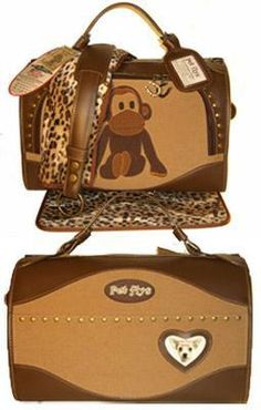 Uncle Monkey Regular Size Pet Carrier
