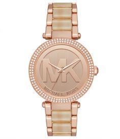 f8687c4deec Michael Kors Women s Women s Rose Gold-Tone Parker Watch - Rose Gold - One  Size
