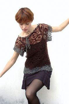 lovely crochet top