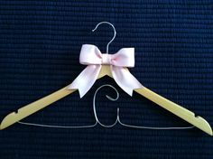 Personalized bridesmaid hanger, handmade, wedding ideas, bridesmaid dress, hanger, crafts, gift ideas, bridal party Bridesmaid Hangers, Bridesmaids, Bridesmaid Dresses, Hanger Crafts, Handmade Wedding, Clothes Hanger, Wedding Ideas, Gift Ideas, Bridal