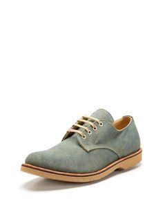 Canvas oxfords, Vintage Shoe Company.